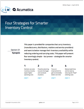 Four Strategies for Smarter Inventory Control - White Paper - ISM ERP.png