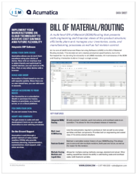 Acumatica-Bill-of-Materials-BOM-Routing-Data-Sheet-cover-ISM-ERP.png